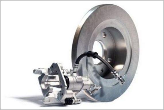 тормозной диск с рабочим цилиндром